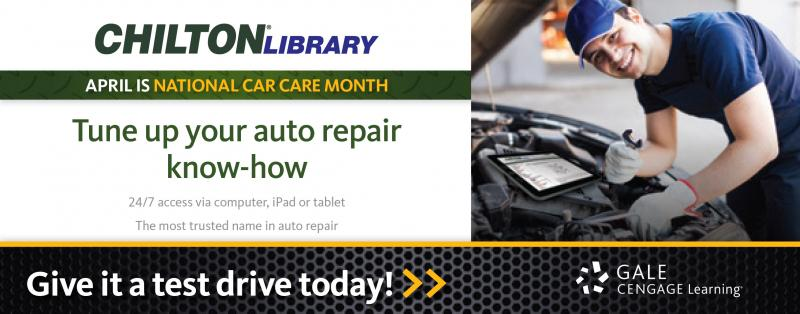 Tune up your auto repair know-how with WPL and Chilton